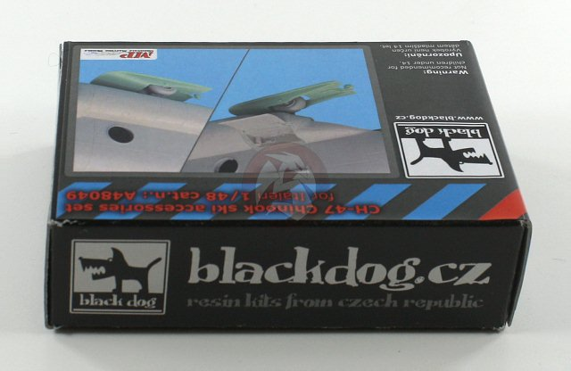 Black Dog 1//48 Boeing CH-47 Chinook Ski Accessories Set for Italeri kits