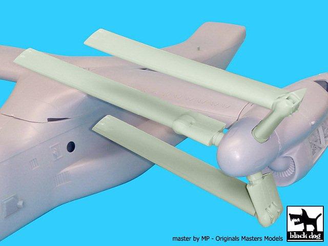Details about Black Dog 1/48 Bell Boeing V-22 Osprey VTOL Propeller Blades  (Italeri) A48073