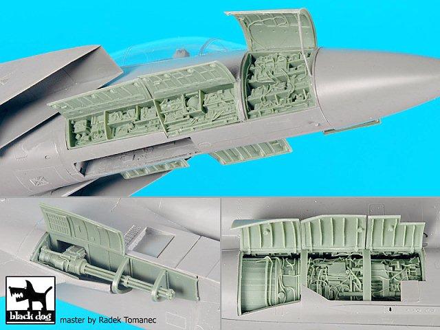 Black Dog 1//48 F-15B//D aeronave Águia Grande Conjunto de detalhes A48097 Para Kit g.w.h.