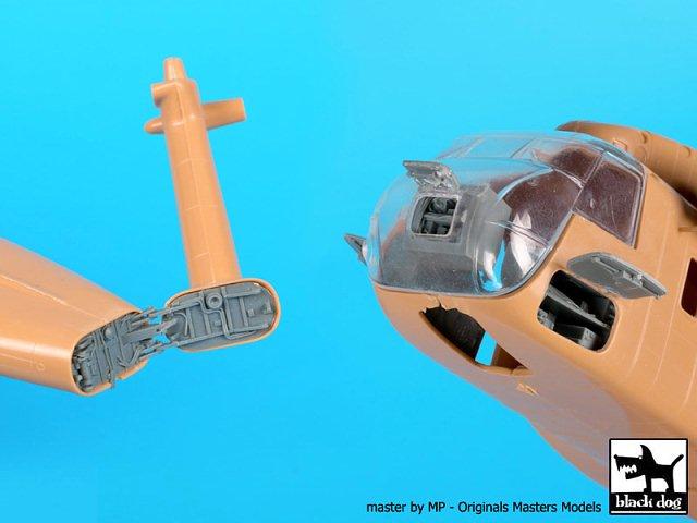 Black Dog 1//72 MH-53J Electronics /& Tail for Italeri kits