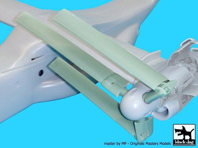 Details about Black Dog 1/72 Bell Boeing V-22 Osprey VTOL Propeller Blades  (Hasegawa) A72040