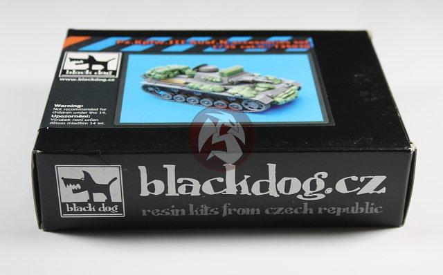 BLACK DOG SET ACCESSORI IN RESINA PZ.KPFW.III AUSF.N 1:35 T35030