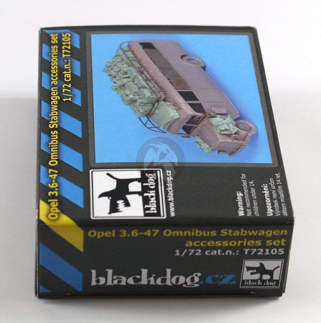 Peddinghaus Industry Singapore: Black Dog 1/72 Opel Blitz 3.6