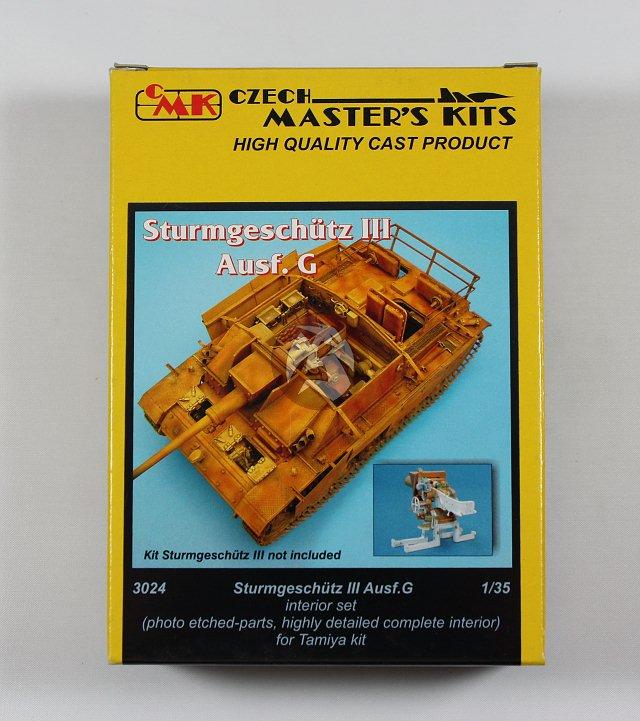 CMK 1/35 Sturmgeschutz III Ausf.G Interior Set (for Tamiya kit) 3024 | eBay