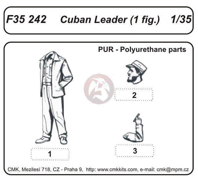 Peddinghaus Industry Singapore: CMK 1/35 Cuban Leader F35242