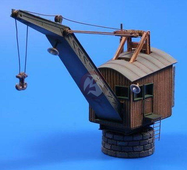 Peddinghaus Industry Singapore: CMK 1/35 10 Ton Steam Harbor Crane (in Atlantic/Baltic
