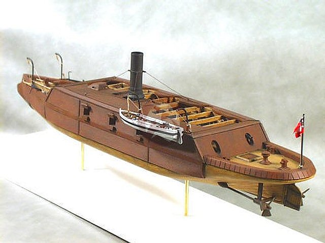 Cottage Industry 1//96 C.S.S Palmetto State Confederate Ironclad Ram 96002
