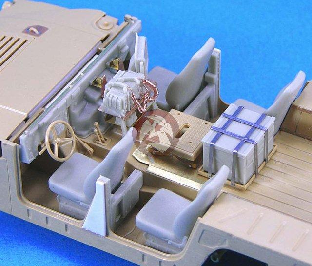 "Peddinghaus Industry Singapore: Legend 1/35 M1114 ""up-armored"" HMMWV Humvee Conversion Set"