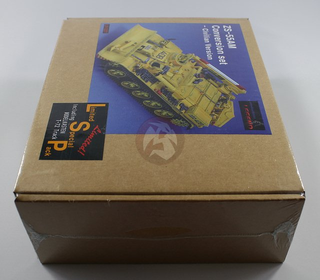 Peddinghaus Industry Singapore: Legend 1/35 Civilian VT-55AM ZS-55AM Conversion W/Track