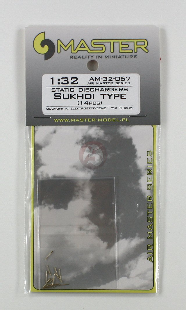 type used on Sukhoi jets MASTER AM72069-1:72 Static dischargers 14pcs