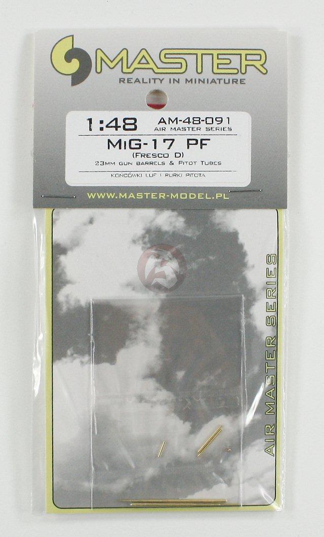 Master 1//72 Pitot Tubes /& 23mm Cannon Barrels for MiG-17PF /'Fresco D/' AM-72-072