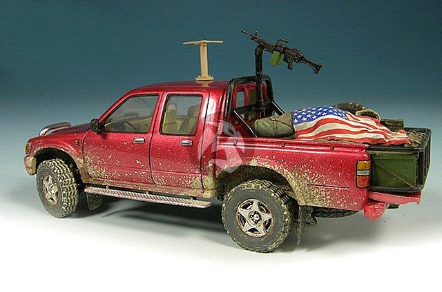 mig 1 35 modern pickup truck hilux us special forces iraq afghanistan 35 145 ebay. Black Bedroom Furniture Sets. Home Design Ideas