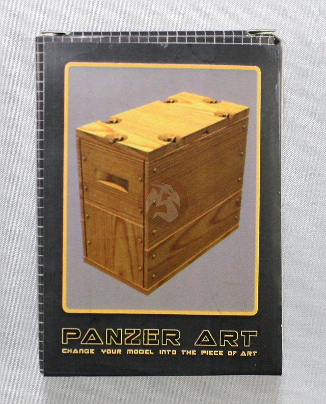 RE35-363 12 pieces Panzer Art 1//35 Ammunition Boxes for Bren Light Machine Gun