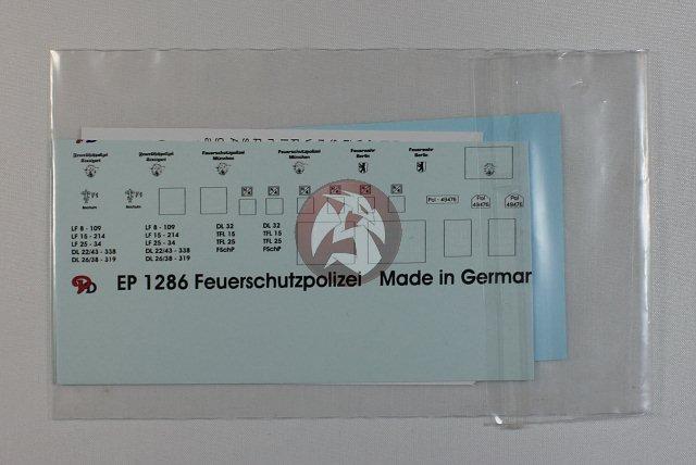 Peddinghaus  1//72 1286 Feuerschutzpolizei