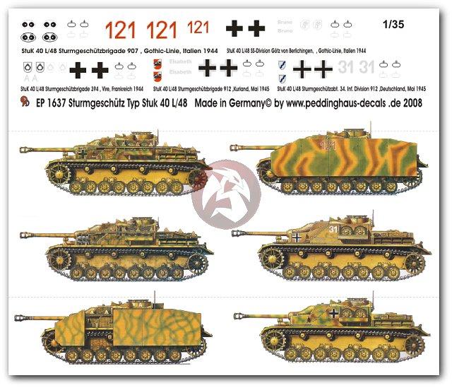 Peddinghaus Workshop Myanmar: Peddinghaus 1/35 StuG IV Sd.Kfz.167 German Assault Gun