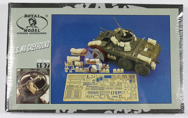 royal model 1 35 us m8 greyhound update set tamiya. Black Bedroom Furniture Sets. Home Design Ideas