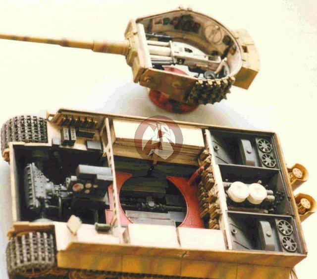 Tiger Tank Interior Model