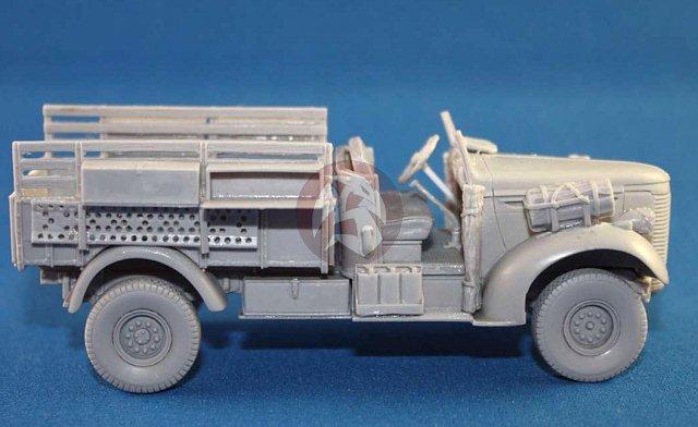 Tank Workshop 1//48 LRDG Chevrolet WB 30cwt Patrol Truck North Africa WWII 48300