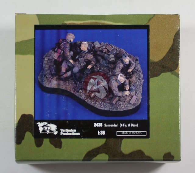 """Peddinghaus Industry Singapore: Verlinden 1/35 """"Surrounded"""" Waffen-SS Soldiers WWII (4"""