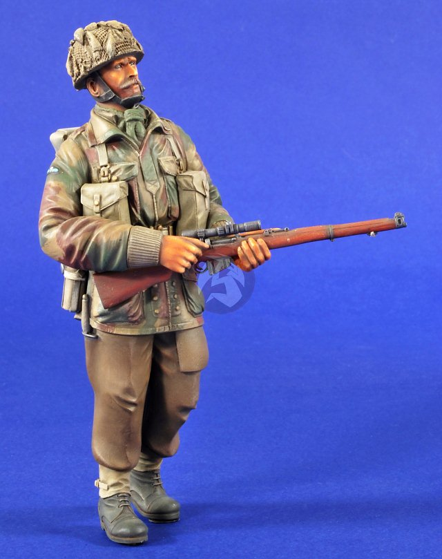 Details about Verlinden 120mm (1/16) British Red Devils Sniper 1st  Parachute Brigade WWII 2775